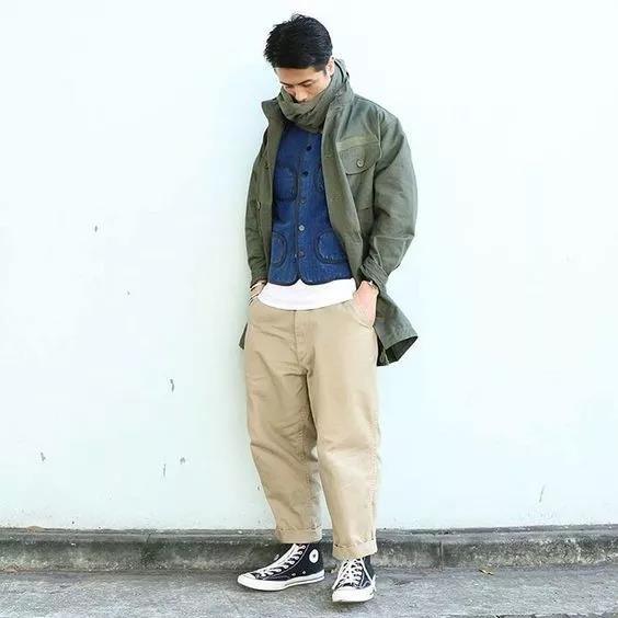 男生要怎么搭配裤子和鞋子?不止关系到腿长  秋10月 第3张