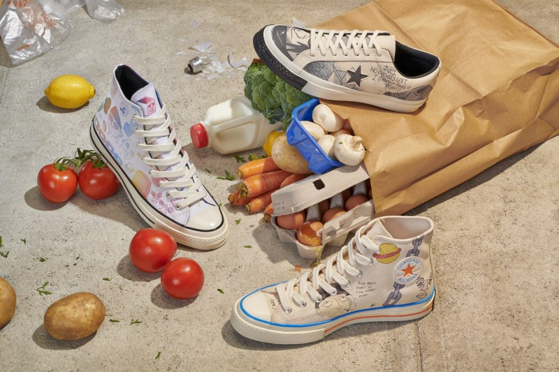 """趣味涂鸦装扮!超高人气 Converse """"小花联名"""" 即将发售  秋11月 第1张"""