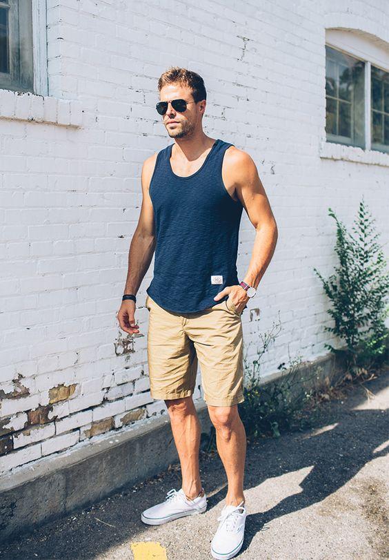 TOP街拍 | 这个夏天一双帆布鞋就能让你帅  夏6月 第3张