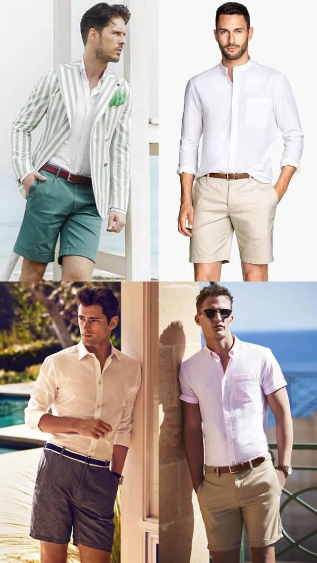冷知识 | 男生短裤多长最有型?这样穿短裤才是翩翩公子  夏6月 第9张