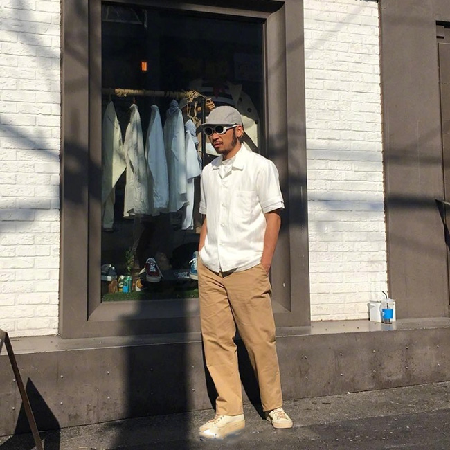 Daily Lookbook | VOL.3 型男大叔的日常穿搭  夏7月 第9张