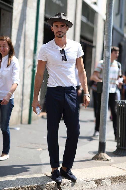 像应勤这样的经济适用男 用T恤就能搞定整个夏天  春5月 第13张