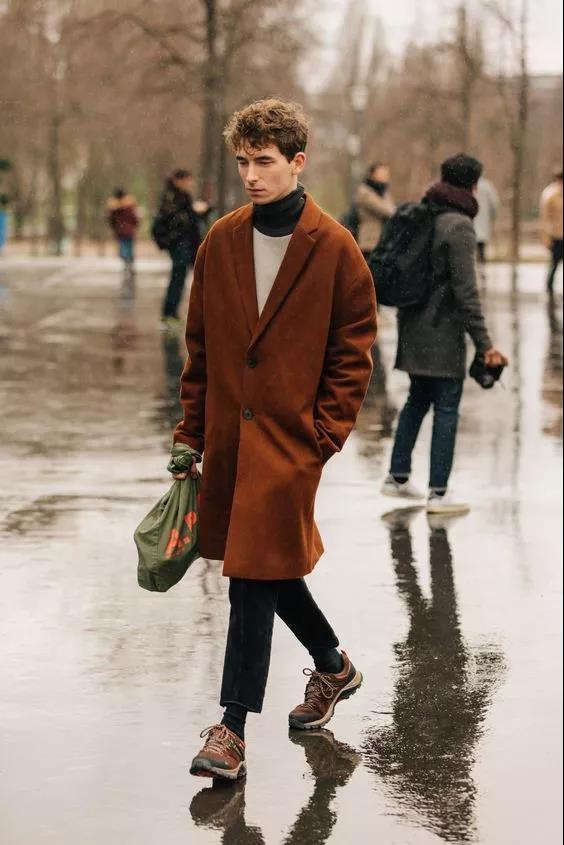 """高领毛衣的冬季,让你体会""""男人式""""的优雅  秋11月 第22张"""