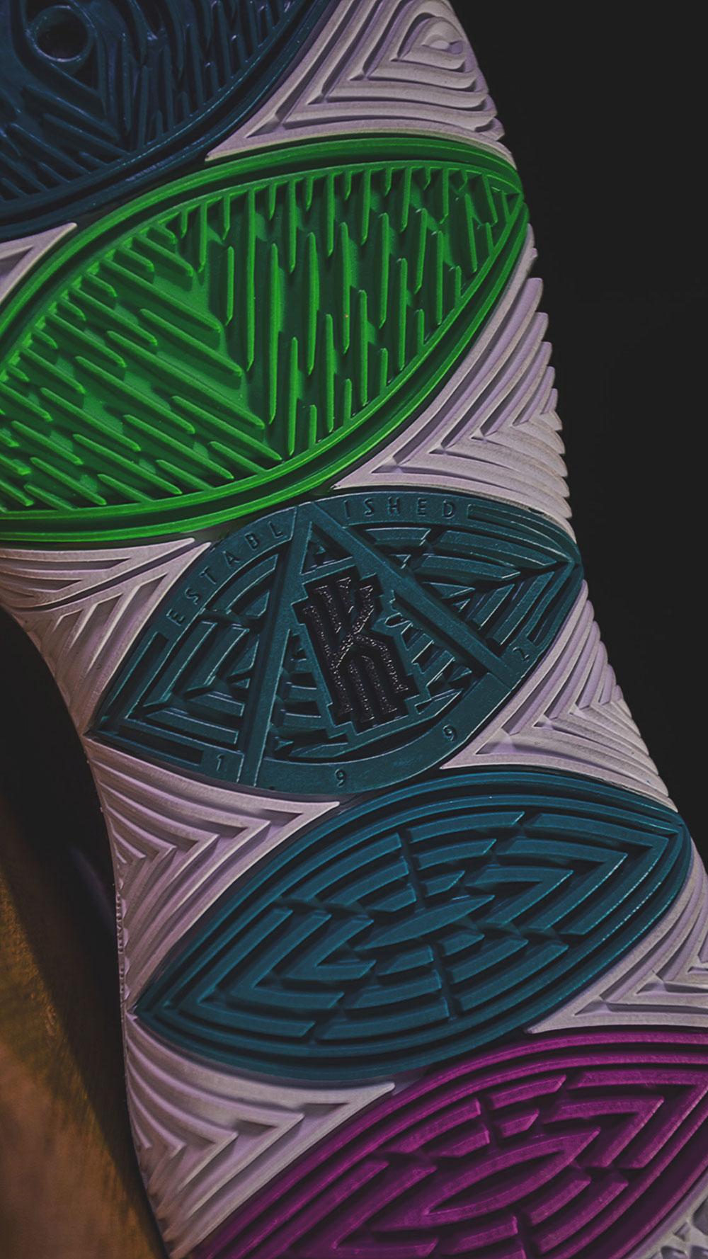 独家揭秘!你从未见过的全新气垫!Kyrie 5 还隐藏了哪些惊喜?  秋11月 第5张