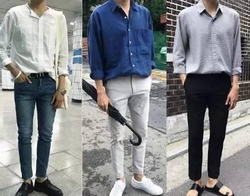 夏日男装清爽搭配,简洁又讨喜  夏8月 第2张