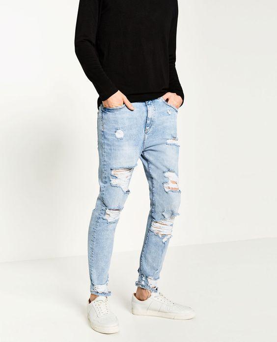 就靠T恤+破洞牛仔裤 这个夏天你简直时髦要上天  夏6月 第5张
