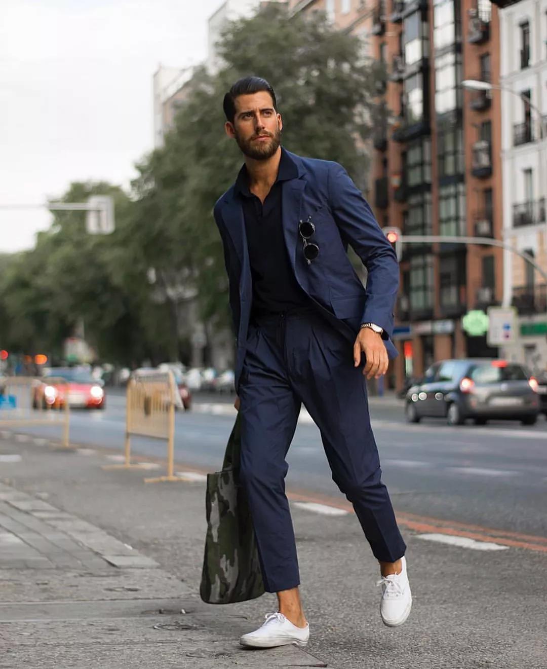羡慕别人的180cm,不如用这条『九分西裤』管好自己的双腿  秋11月 第11张