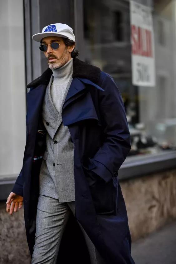 """高领毛衣的冬季,让你体会""""男人式""""的优雅  秋11月 第2张"""