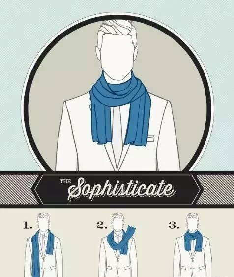 男士围巾到底有多重要?冬天要来了你不来一条嘛!  秋11月 第8张